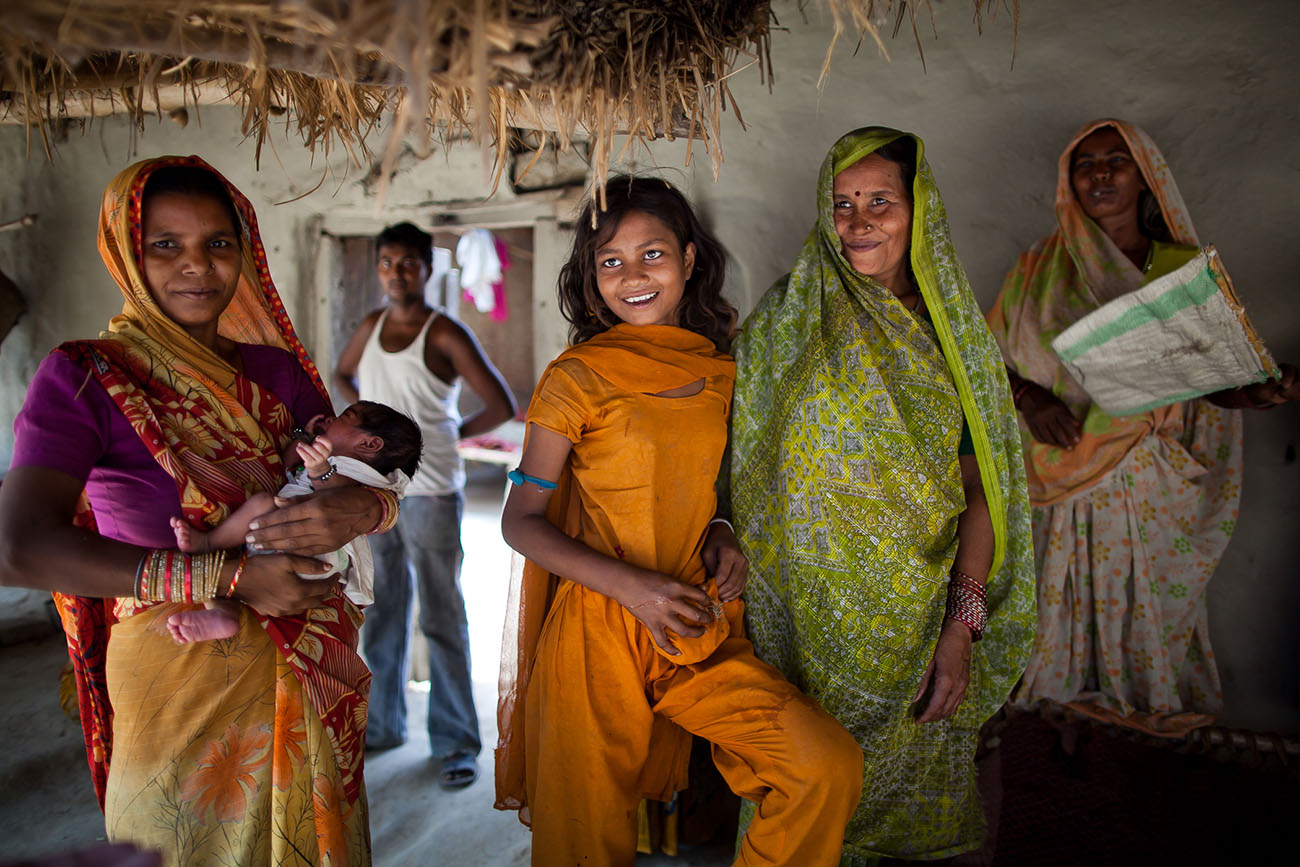 Women in India are appreciative of the opportunity to receive proper maternal care.