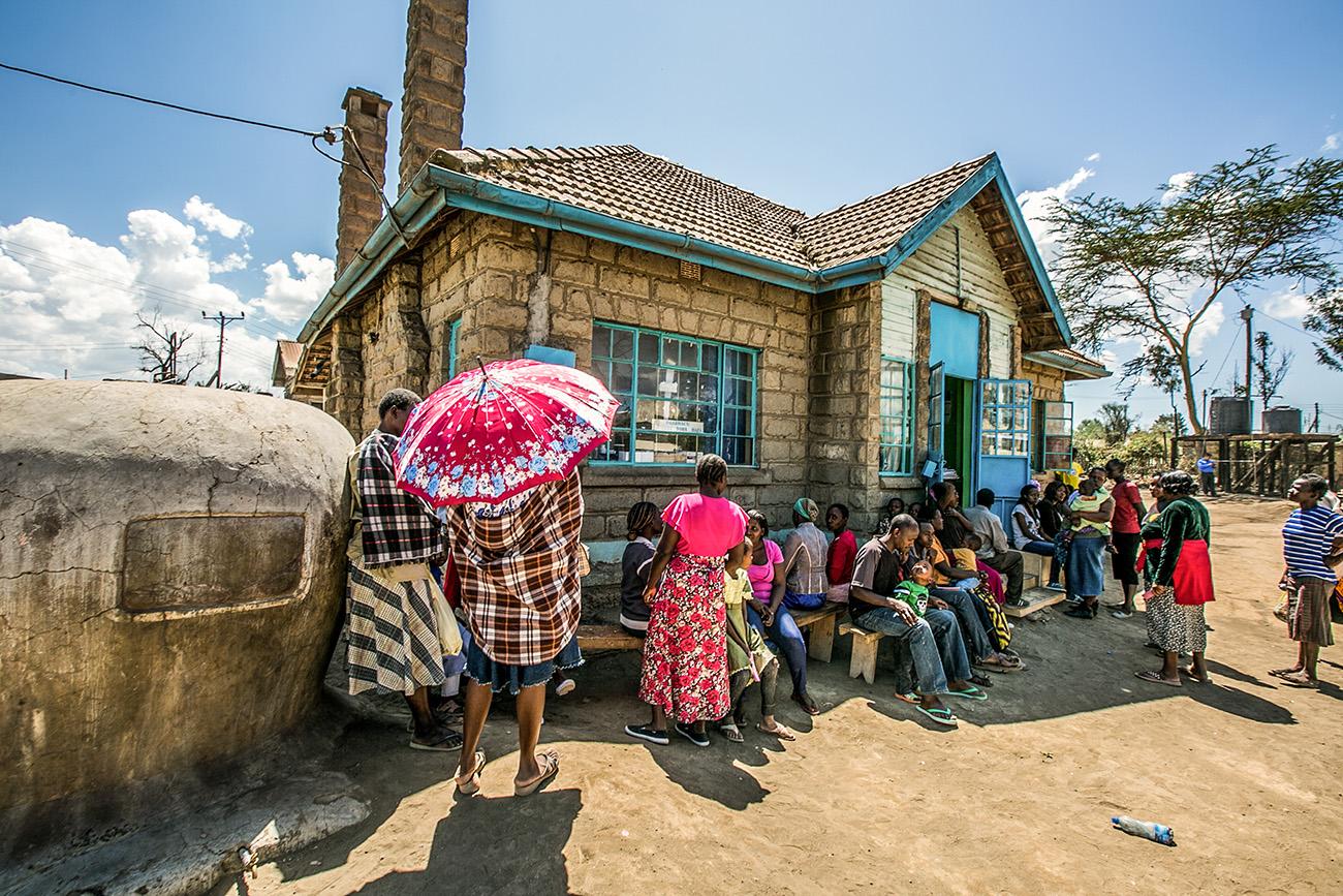 slum clinic Kenya